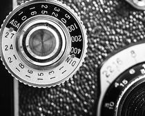 Vintage Yashica 635 Camera - ASA Dial by Jon Woodhams