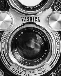 Yashica 635 - Front Detail by Jon Woodhams