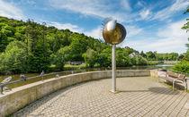 Kreuznacher Roseninsel-Sonnenskulptur by Erhard Hess