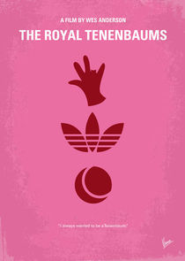 No320 My The Royal Tenenbaums minimal movie poster by chungkong