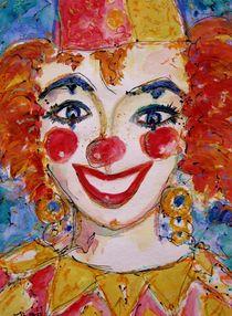 Clownmädchen by Ingrid  Becker