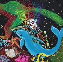 Rainbow Mermaid von Laura Barbosa