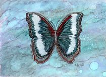 Patriotic Butterfly by Linda Ginn