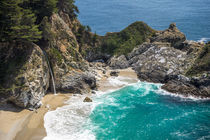 McWay Falls Big Sur California by Priya Ghose
