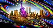 New York  Freiheitsstatue 8 von Walter Zettl