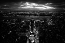 New York at Night von Calvinator DesignsTM