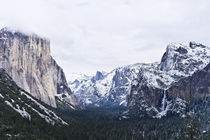 Yosemite Tunnel View In Winter von Priya Ghose