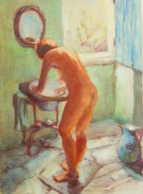Aktmalerei Morgentoilette Willy Ronis von alfons niex