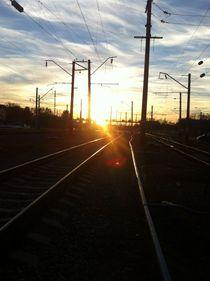 Railway station by kimankaa