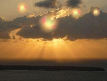 Sonnenuntergang über Atlantis von coco coconing