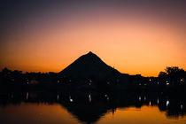 Holy Lake in Pushkar von Dani Mitter