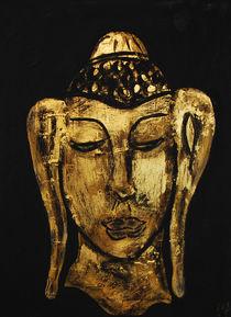 Buddha in gold von Gabriele  Schloß