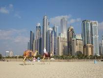 Am Strand von Dubai - Foto von Renée König