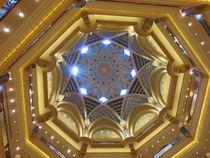 Kuppel im Emirates Palace von Renée König