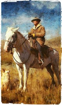 Der Reiter - the rider - by Wolfgang Pfensig