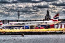 British Airways and Single Scull by David Pyatt