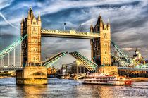 Tower Bridge London opening von David Pyatt
