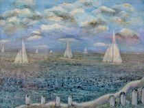 Segelboote im Bodden von konni