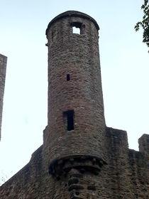 Burgturm Kasselburg by Gabriele  Schloß