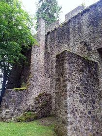 Burgmauern Eifel by Gabriele  Schloß