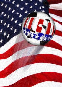 USA Soccer Ball von gravityx9