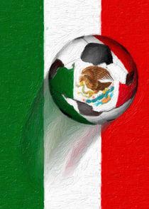 Mexico Soccer Ball von gravityx9