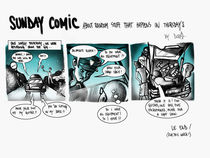 Sunday Comic by Dora Vukicevic