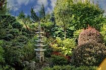 Japanese style garden by Helmut Schneller