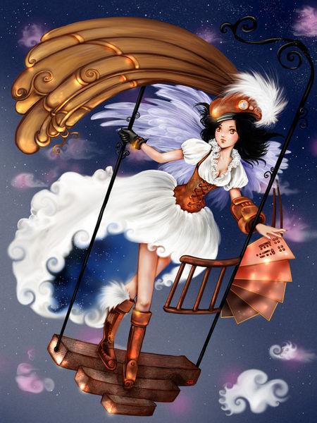 Steampunk-girl