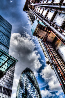 City of London Iconic Buildings von David Pyatt