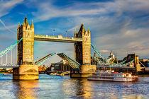 Tower Bridge London opening by David Pyatt