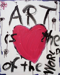 Art is the heart of the world by Daniel Sean Kaiser