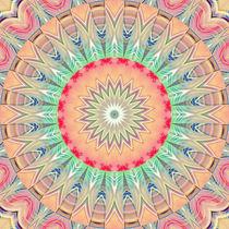 Mandala Pastell Nr. 2 von Christine Bässler