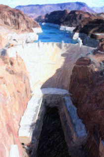 Lake Mead - Hoover Dam von gravityx9