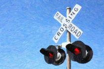 Railroad Crossing Signal by gravityx9