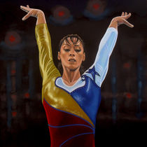 Catalina Ponor painting von Paul Meijering