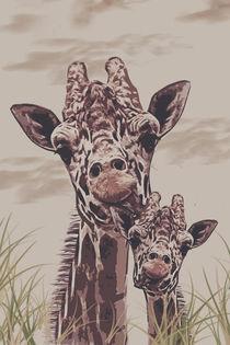 Giraffe by Galen Valle