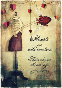 hearts are wild creatures by Sybille Sterk
