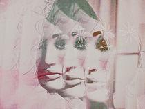 Three half faces by Gabi Hampe