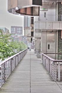 Hamburg, Hafencity Holzsteg - Harbourcity broadwalk von Marc Heiligenstein