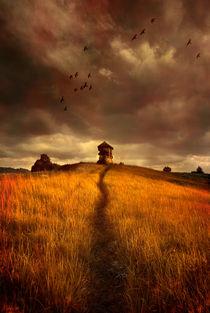 'Lonely house on the hill' von Jarek Blaminsky