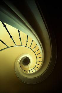 Green and yellow spirals by Jarek Blaminsky