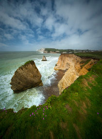 Isle of Wight seascape von Jarek Blaminsky