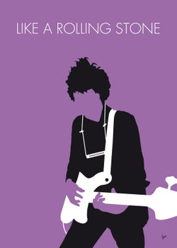 No001-my-bob-dylan-minimal-music-poster