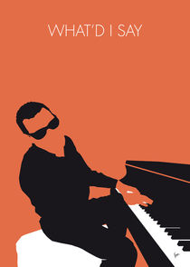 No003-my-ray-charles-minimal-music-poster