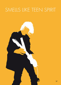 No004 MY Nirvana Minimal Music poster by chungkong