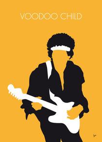No014 MY Jimi Hendrix Minimal Music poster von chungkong