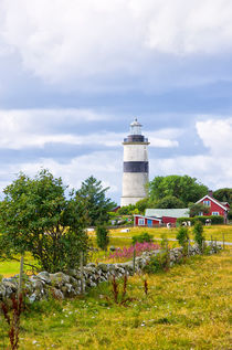 SWEDISH LIGHTHOUSE IDYLL von ullrichg
