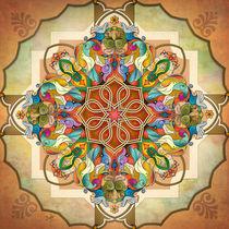 Mandala Birds von Bedros Awak