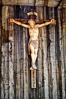 Jesus am Kreuz by Helmut Schneller